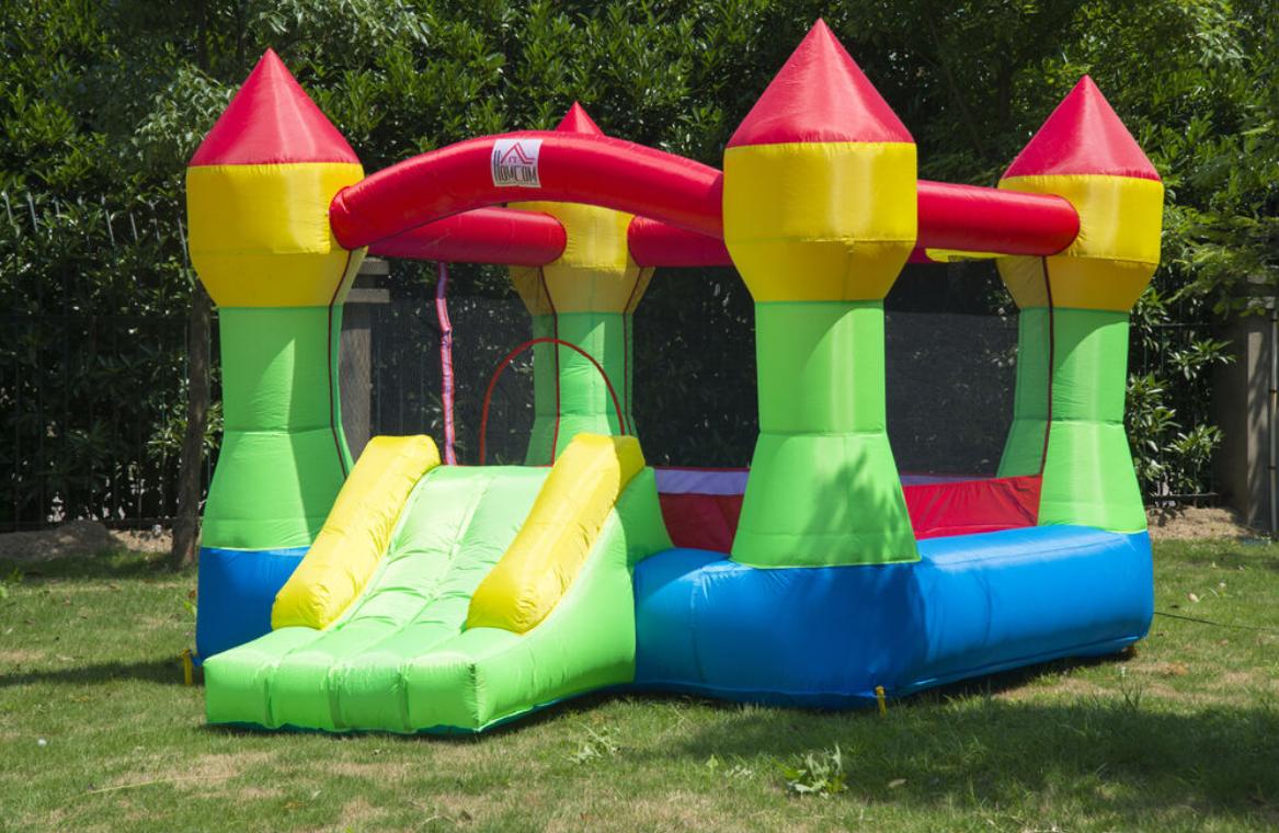HOMCOM Kids Bouncy Castle