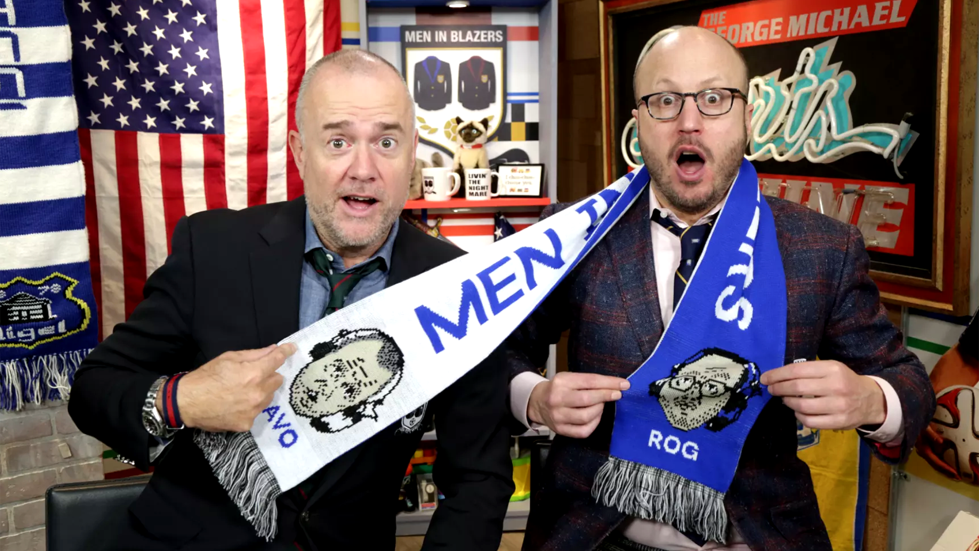Men in Blazers podcast picture