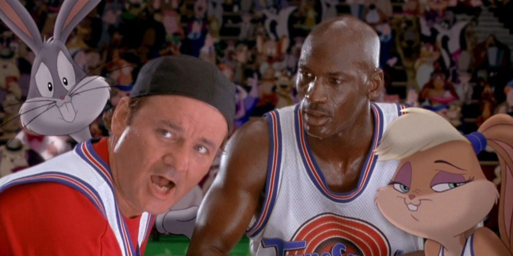 Michael Jordan Got Back in Shape Using the Space Jam Movie
