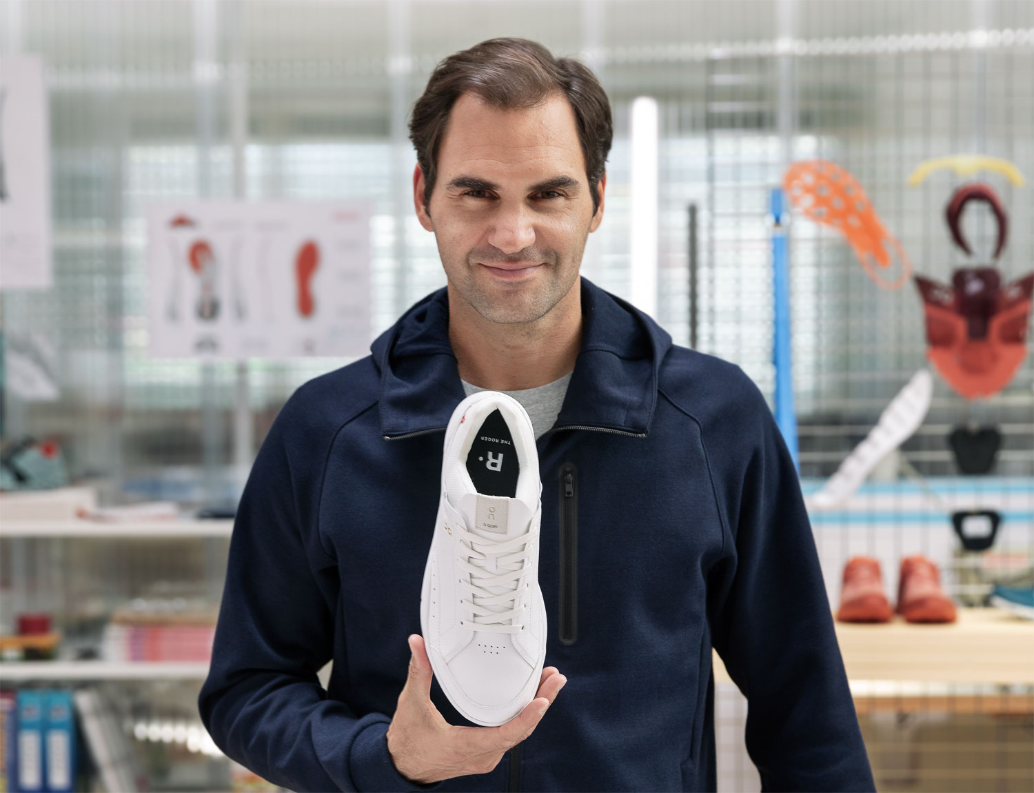 Roger Federer's New Sneaker Is the Most Advanced Tennis Shoe Ever