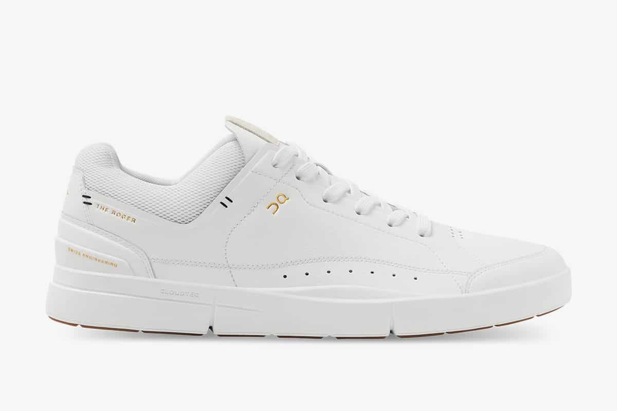 Side Picture of Roger Federer's New Sneakers
