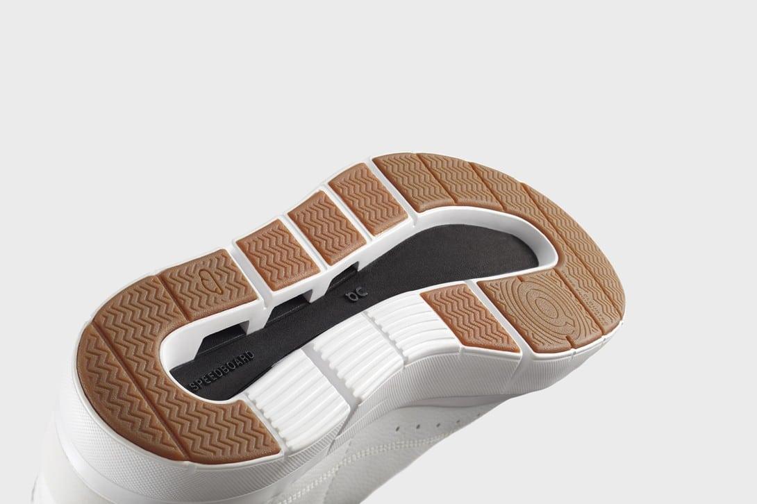 Bottom View of Roger Federer's New Sneakers