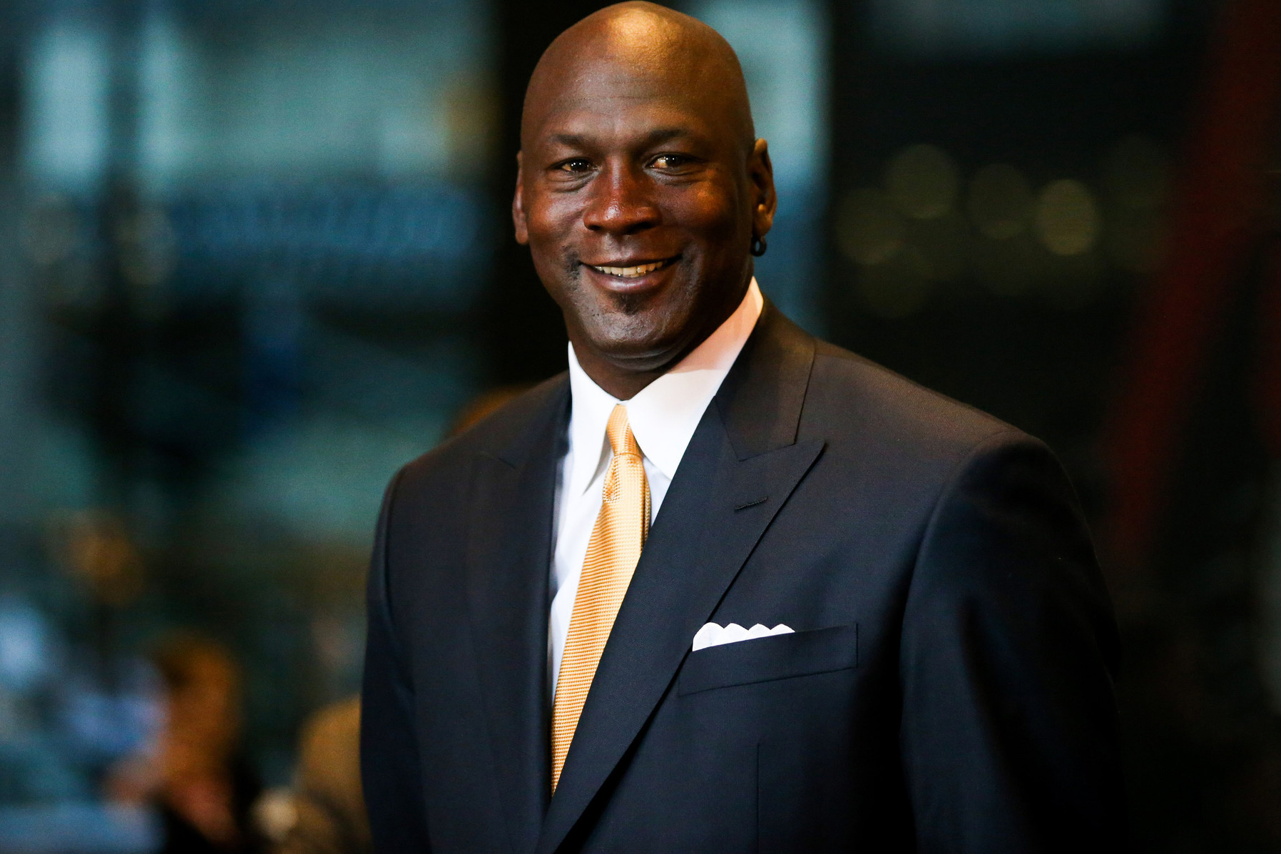 Michael Jordan dressed formally