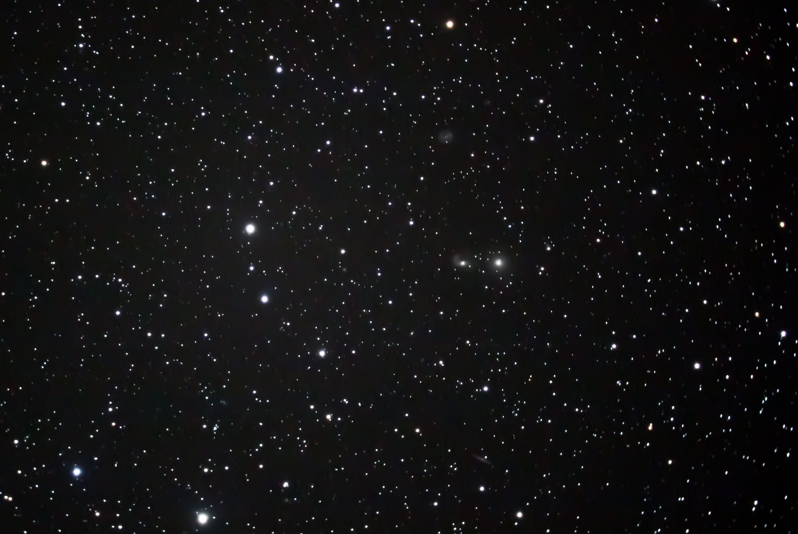 The photograph of the NGC 2275