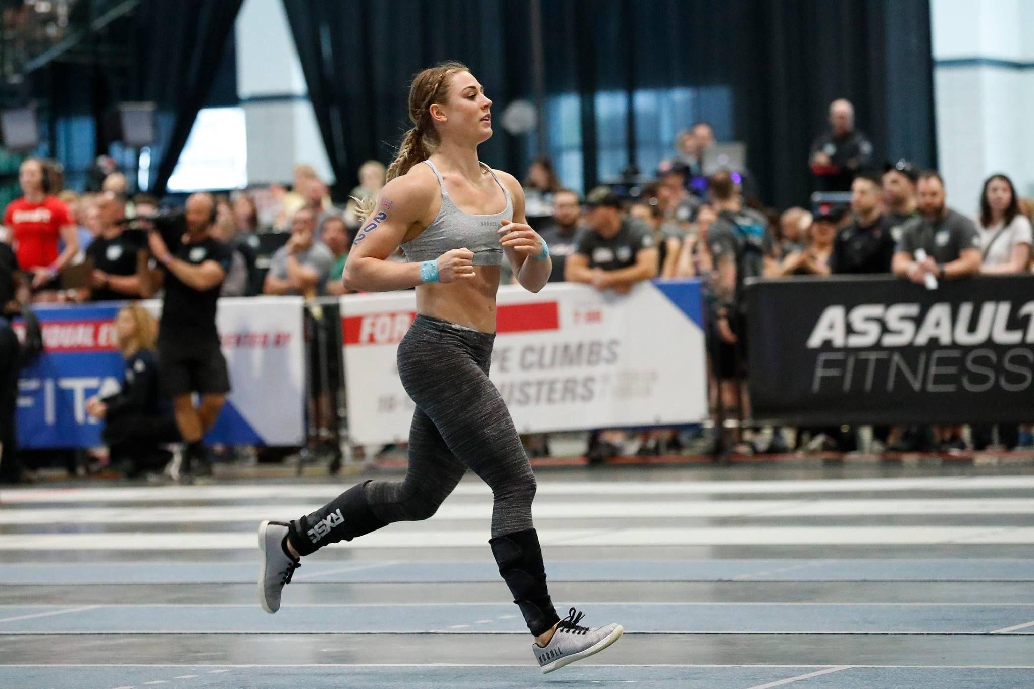 Brooke Wells running