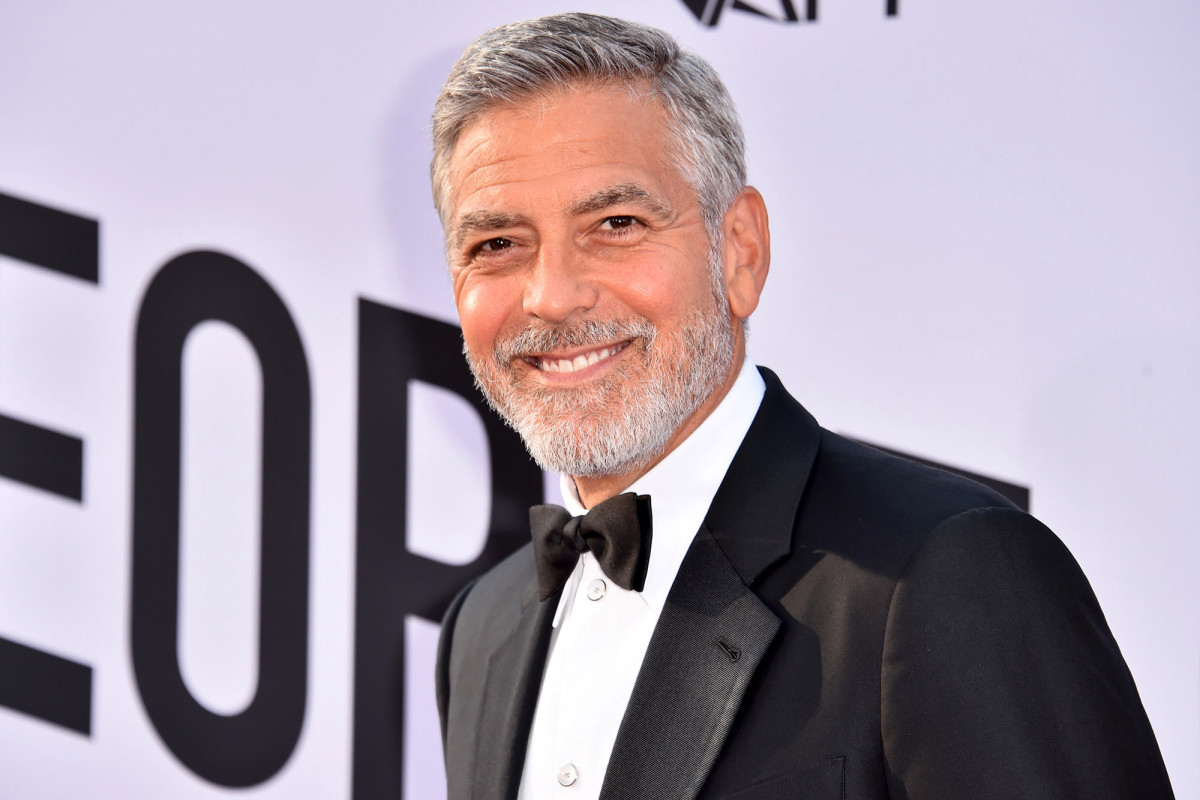 George Clooney Cuts His Hair Using a Flowbee in Only 2 Minutes