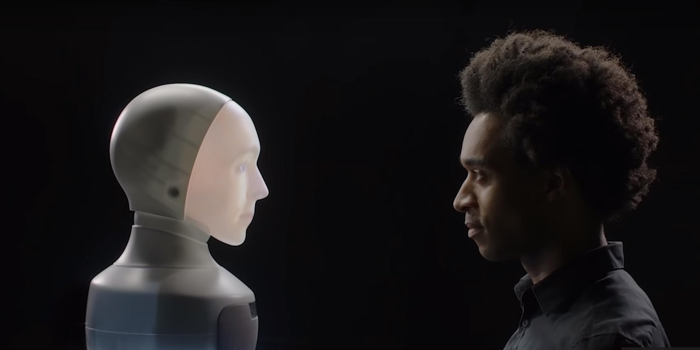 Human to Robot Eye Contact