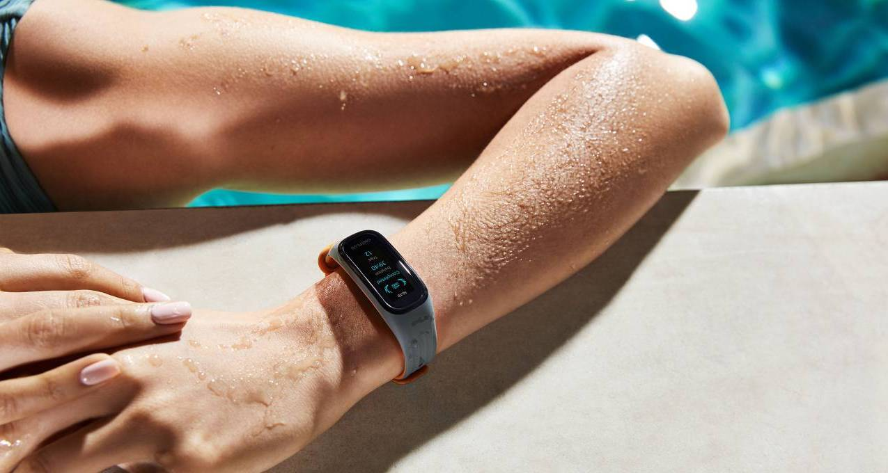 OnePlus Band is water-resistant