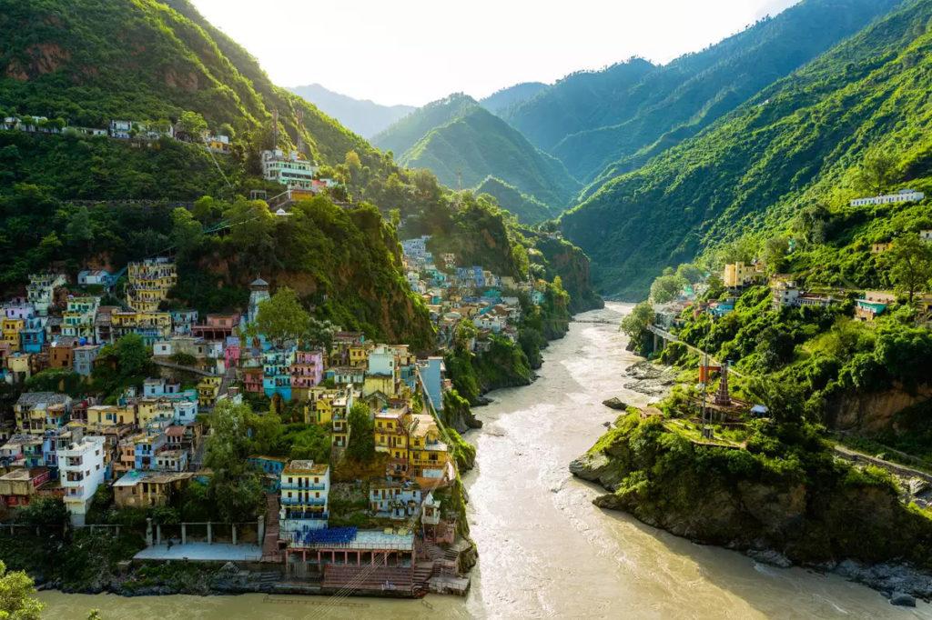 Uttarakhand, India, before the flood