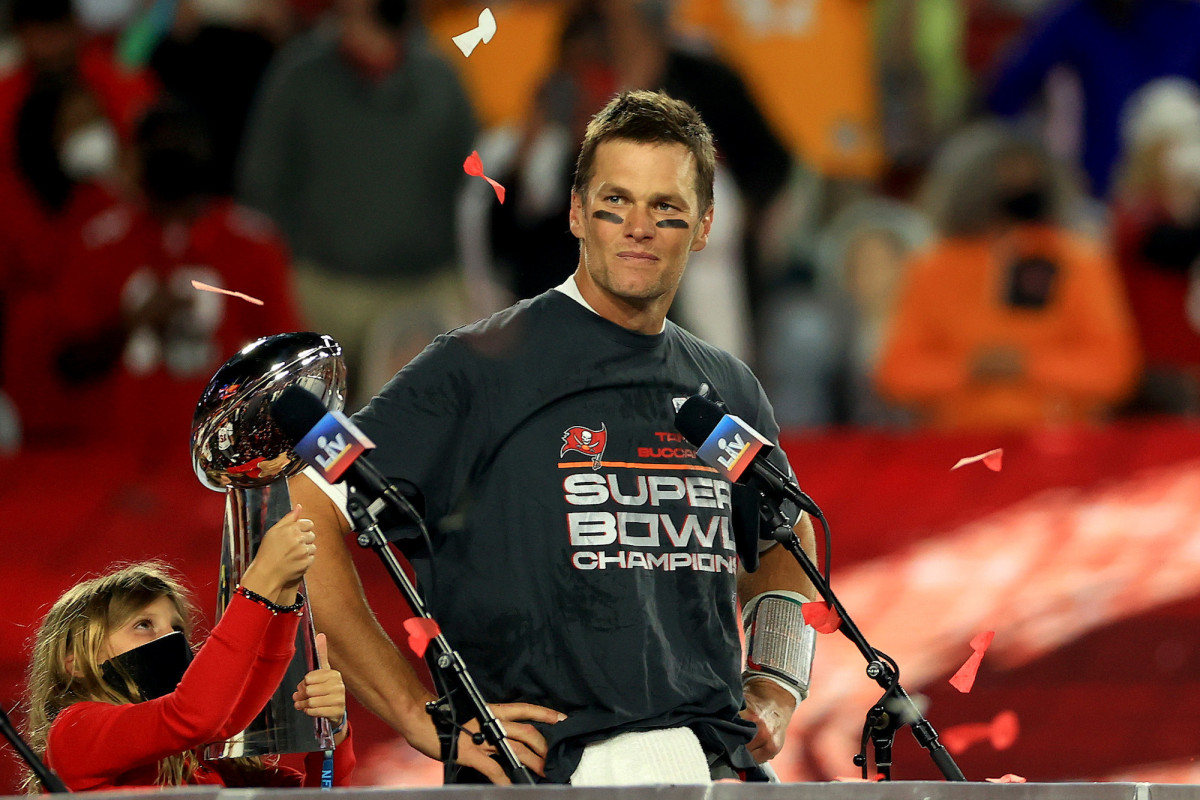 Tom Brady Won His 7th Super Bowl Title at the Age of 43
