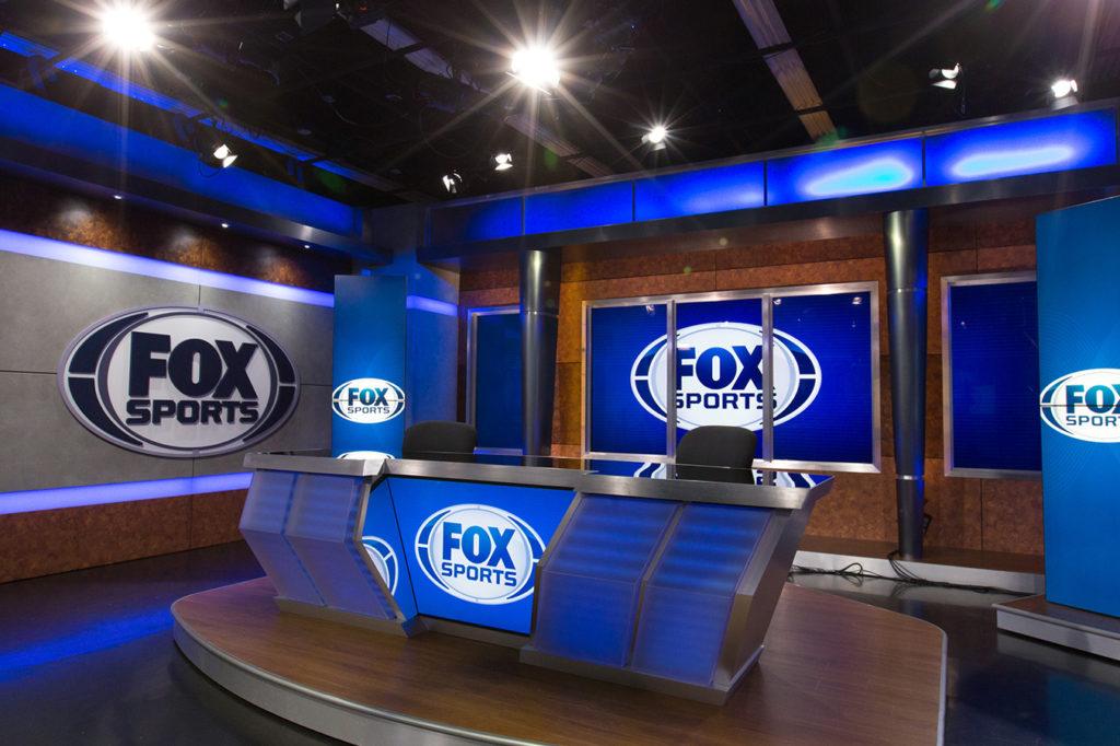The Fox Sports studio