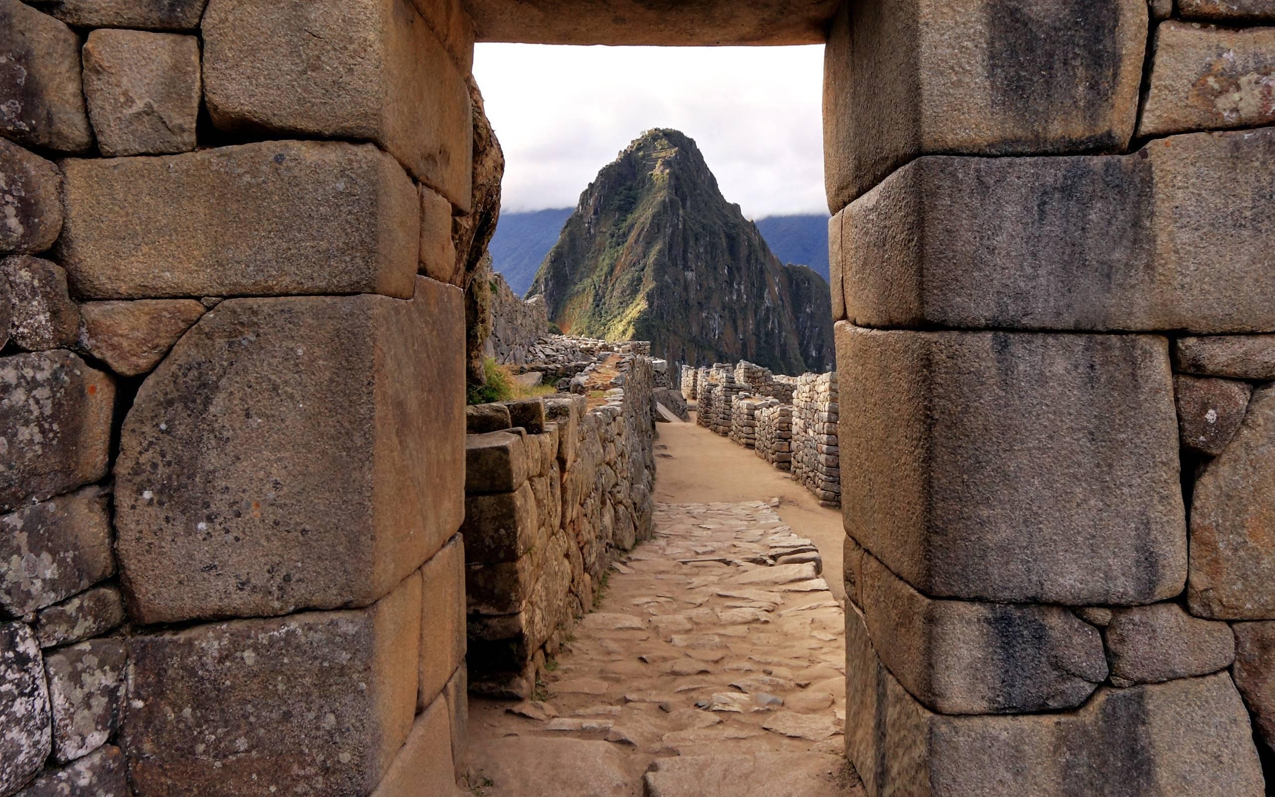 A look inside the walls of Machu Picchu