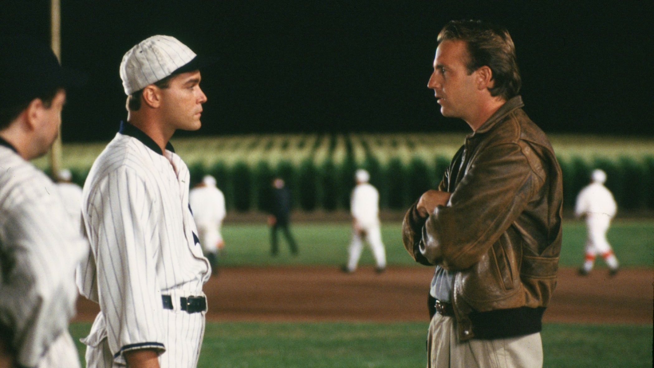 A still from the Field of Dreams 1989 movie.